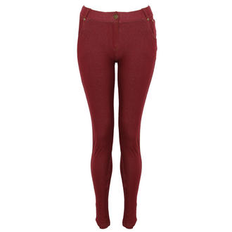 View Item Wine Jeggings
